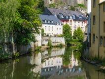 La ville du Luxembourg Photo libre de droits