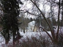 La ville du parc de ville de Pavlovsk Images stock