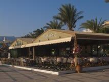 La ville du remblai de sitia Crète Images libres de droits