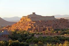 La ville enrichie d'AIT Ben Haddou près d'Ouarzazate Maroc Photo stock