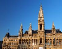 La ville hôtel de Vienne photographie stock libre de droits