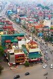 La ville (Hanoï) du Vietnam Image libre de droits