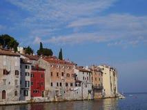 La ville historique Rovinj dans Istria en Croatie photo libre de droits