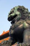 La ville interdite à Pékin, Chine Photographie stock libre de droits