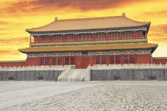 La ville interdite de Pékin Image libre de droits