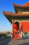 La ville interdite historique à Pékin Images libres de droits