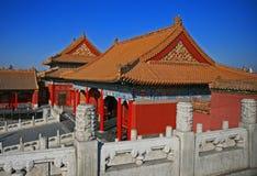 La ville interdite historique à Pékin Images stock
