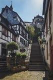 La ville minuscule des winemakers Photographie stock