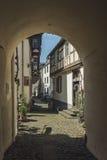 La ville minuscule des winemakers Image stock