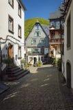La ville minuscule des winemakers Photos stock