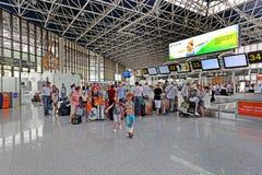 La ville moderne de l'aéroport de Sotchi Photo libre de droits