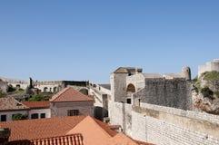 La ville murée de Dubrovnic en Croatie l'Europe Dubrovnik est surnommé perle de ` de l'Adriatique Photographie stock