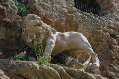 La ville perdue de Monterano Image libre de droits