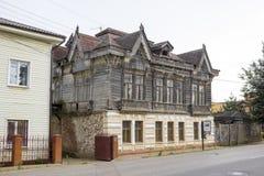 La ville russe antique Borovsk en juillet Photographie stock libre de droits