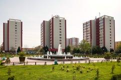 La ville Sumgait Images libres de droits