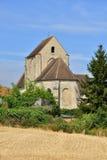 La Villeneuve saint Martin, France - august 10 2015 : the pictur Royalty Free Stock Photography