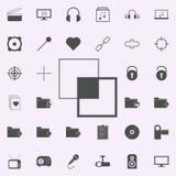 la vinculación acoda el icono sistema universal de los iconos del web para el web y el móvil libre illustration