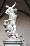 La violenza delle donne del Sabine da Giambologna Fotografia Stock