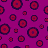 La violette fleurit la texture sans couture Photos libres de droits