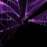 La violette ondule dans le point de vue Photos libres de droits