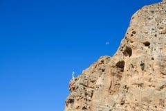La virgen en la montaña imagen de archivo libre de regalías