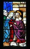 La Virgen visita a Elizabeth Fotos de archivo libres de regalías