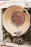 La visión analizó la lavadora sin el tambor imagen de archivo libre de regalías