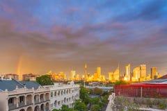 La visión asombrosa desde potts de un tejado señala a Sydney Australia Fotos de archivo libres de regalías