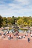 La visión desde Bethesda Terrace en Central Park Foto de archivo