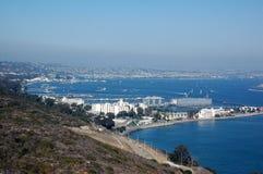 La visión desde el Point Loma foto de archivo