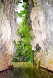 La visión desde la cueva Foto de archivo libre de regalías