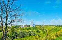 La visión desde los ejes de Suzdal el Kremlin Fotos de archivo libres de regalías