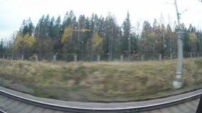 La visión desde la ventana de los trenes metrajes