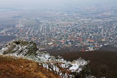 La visión desde Zobor Fotos de archivo
