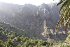 La visión más hermosa y más impresionante, Masca, Tenerife Imágenes de archivo libres de regalías