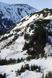 La visión montañosa Imagenes de archivo