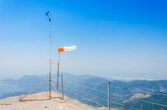La visión panorámica desde la montaña de Olympos Fotografía de archivo