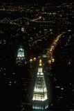 La visión sobre el edificio remata, New York City, NY Fotos de archivo libres de regalías