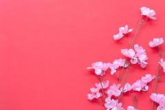 La visión superior tiró de Año Nuevo chino de la decoración del arreglo Fotos de archivo