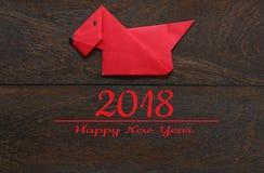 La visión superior tiró de Año Nuevo chino de la decoración del arreglo fotos de archivo libres de regalías