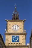 La Visita de L Horloge em Salon de Provence foto de stock royalty free