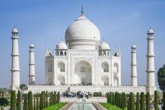 La visite Taj Mahal de personnes Images stock