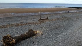 La vista a abre una sesión la playa imágenes de archivo libres de regalías