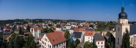 La vista aerea del san annen la Turingia Germania del goessnitz della chiesa Immagini Stock