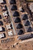La vista aerea di costruzione alloggia il sito Fotografie Stock Libere da Diritti
