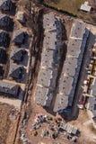 La vista aerea di costruzione alloggia il sito Immagine Stock Libera da Diritti