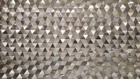 La vista astratta del primo piano della foto di alluminio moderno ha arieggiato il facad Immagine Stock