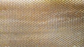 La vista astratta del primo piano della foto di alluminio moderno ha arieggiato il facad Immagini Stock
