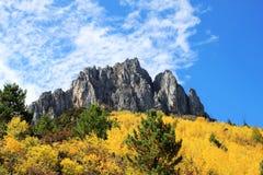 La vista in autunno Immagini Stock Libere da Diritti