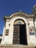 La vista cercana de la catedral de Sofía dedicó al santo Alexander Nevsky Imagenes de archivo